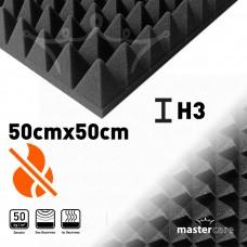 Mastercare H3 Karbonlu Yanmaz Sünger Piramit 50cmx50cm